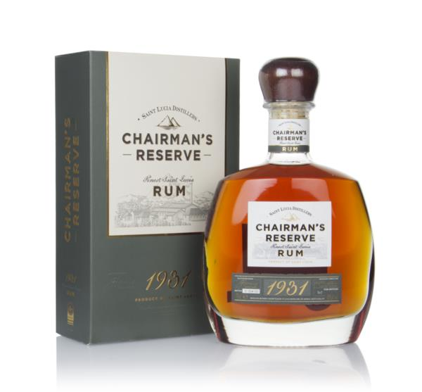 Chairmans Reserve 1931 Dark Rum