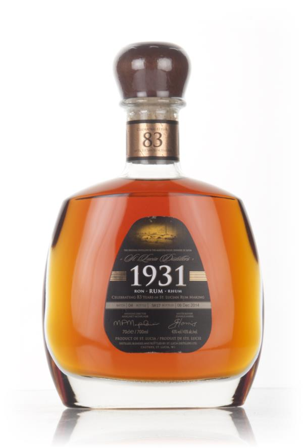 St Lucia Distillers 1931 Fourth Edition 3cl Sample Dark Rum