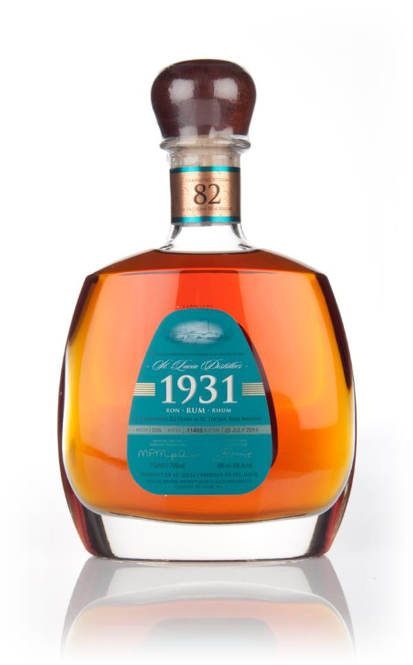 St Lucia Distillers 1931 Third Edition Dark Rum