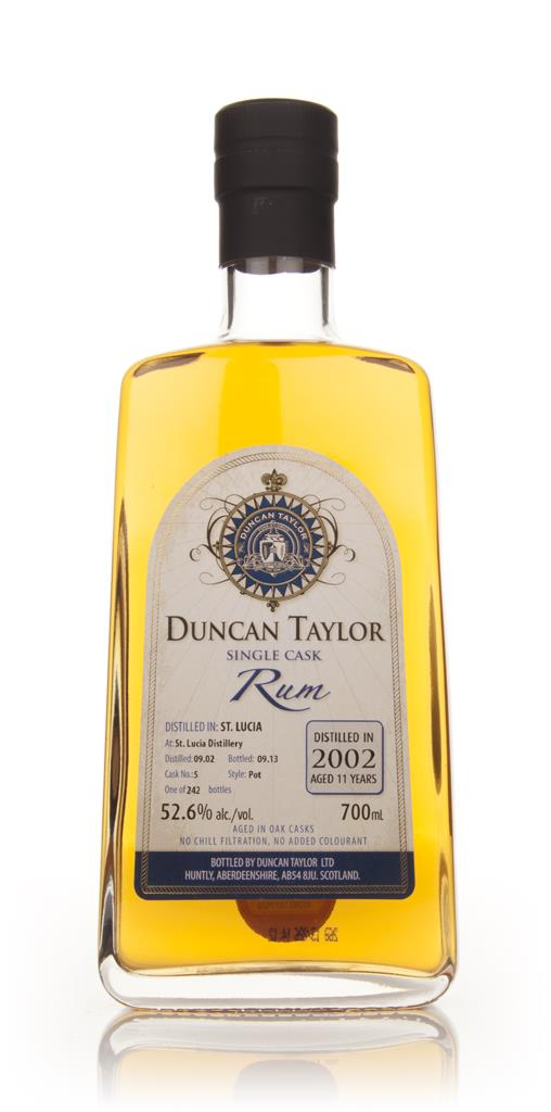 St Lucia Rum 11 Year Old 2002 (cask 5) - Single Cask Rum (Duncan Taylo Dark Rum 3cl Sample