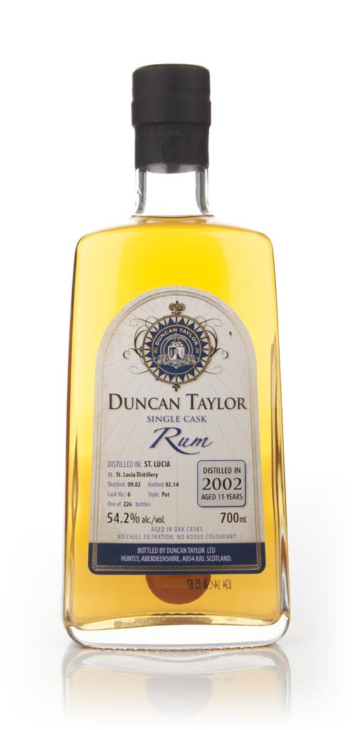 St Lucia 11 Year Old 2002 (cask 6) - Single Cask Rum (Duncan Taylor) Dark Rum