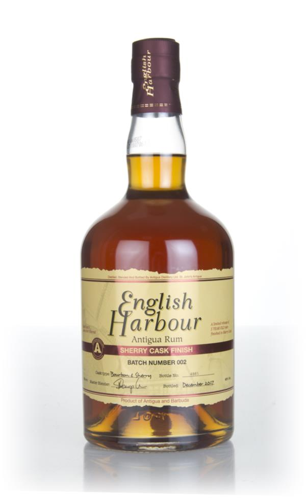 English Harbour Sherry Cask Finish Dark Rum