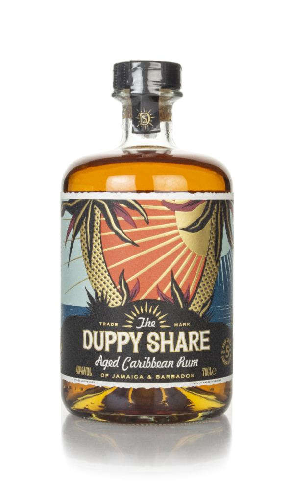The Duppy Share Caribbean Rum 3cl Sample Dark Rum