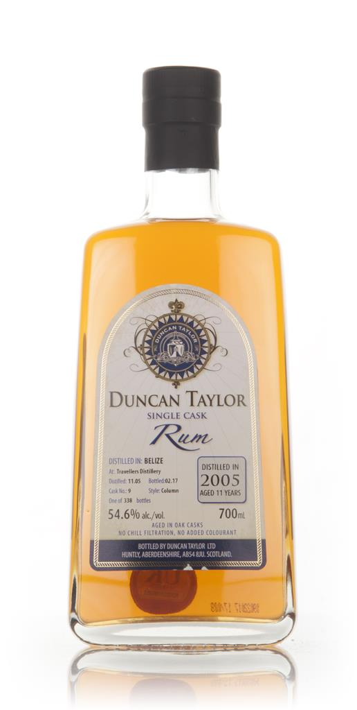 Travellers Distillery 11 Year Old 2005 (cask 9) - Single Cask Rum (Dun Dark Rum