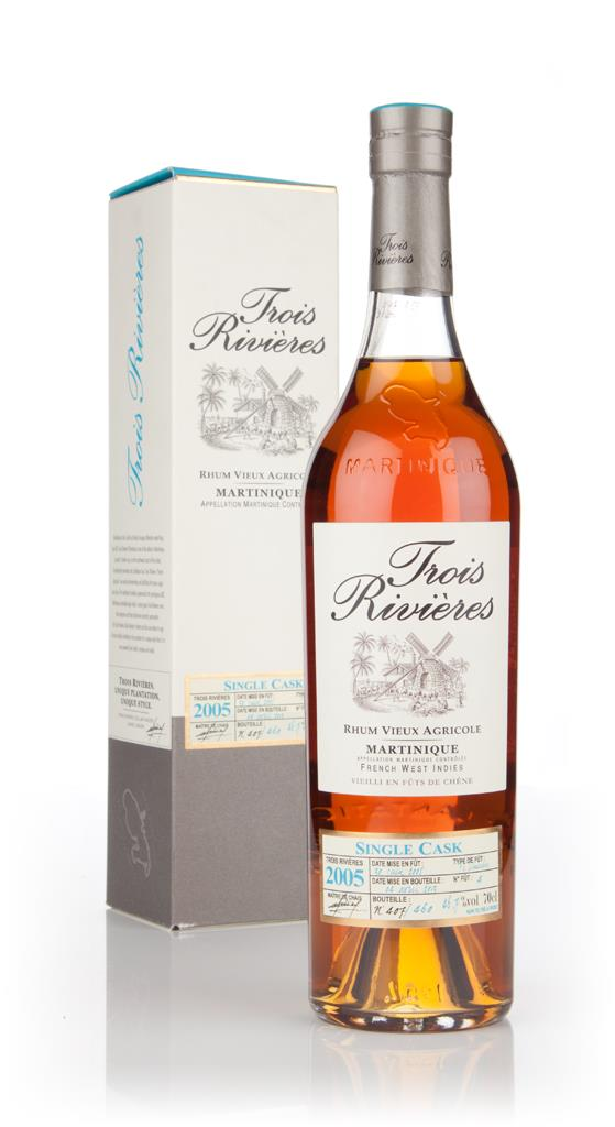 Trois Rivieres 7 Year Old 2005 - Single Cask Rhum Agricole Rum