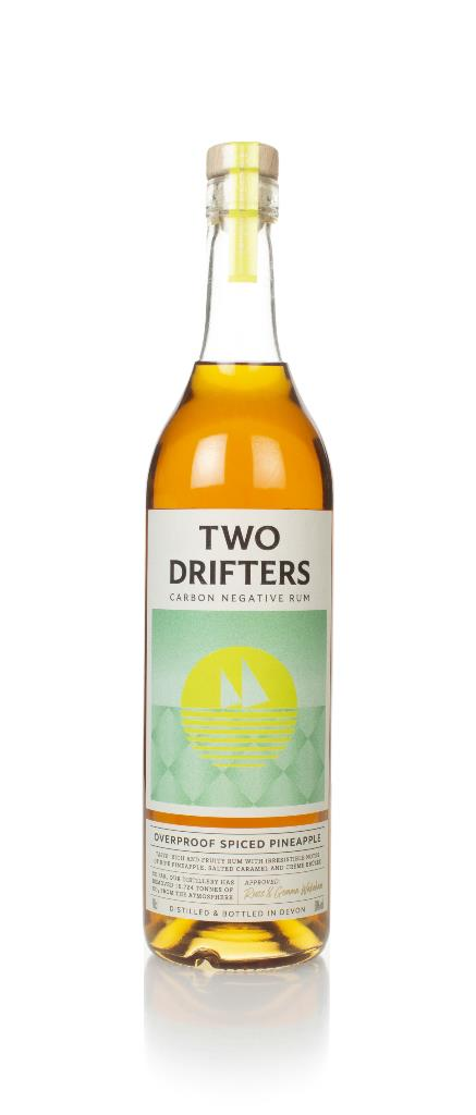 Two Drifters Overproof Spiced Pineapple Spiced Rum