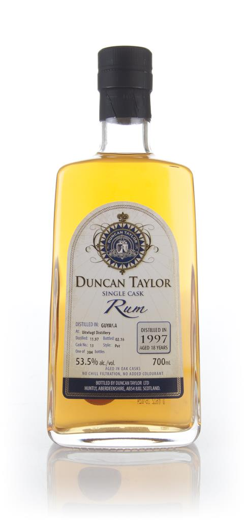 Uitvlught 18 Year Old 1997 (cask 13) Duncan Taylor Dark Rum