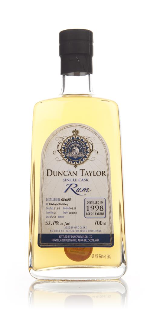 Uitvlught 16 Year Old 1998 (cask 35) - Single Cask Rum (Duncan Taylor) Dark Rum