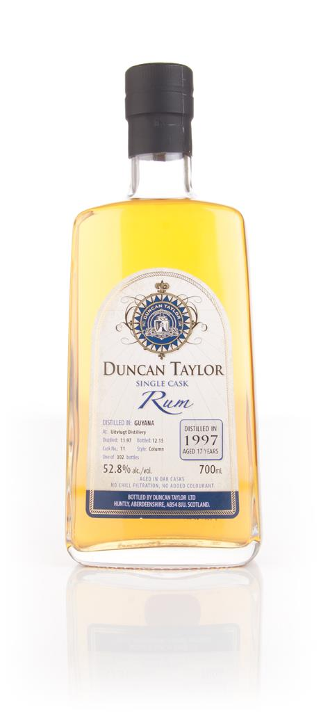 Uitvlugt 17 Year Old 1997 (cask 11) - Single Cask Rum (Duncan Taylor) Dark Rum