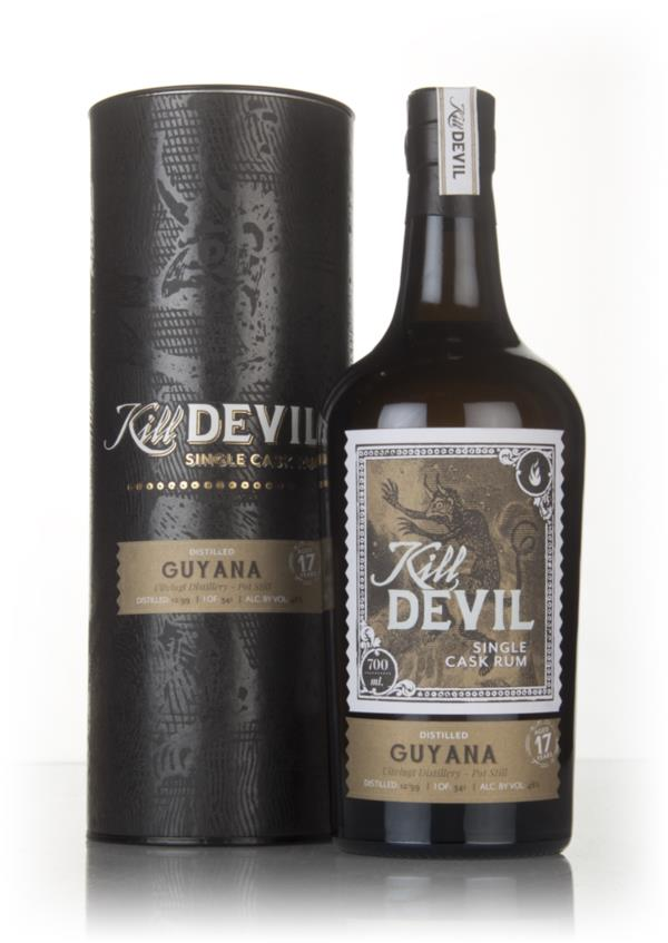 Uitvlugt 17 Year Old 1999 Guyanese Rum - Kill Devil (Hunter Laing) Dark Rum