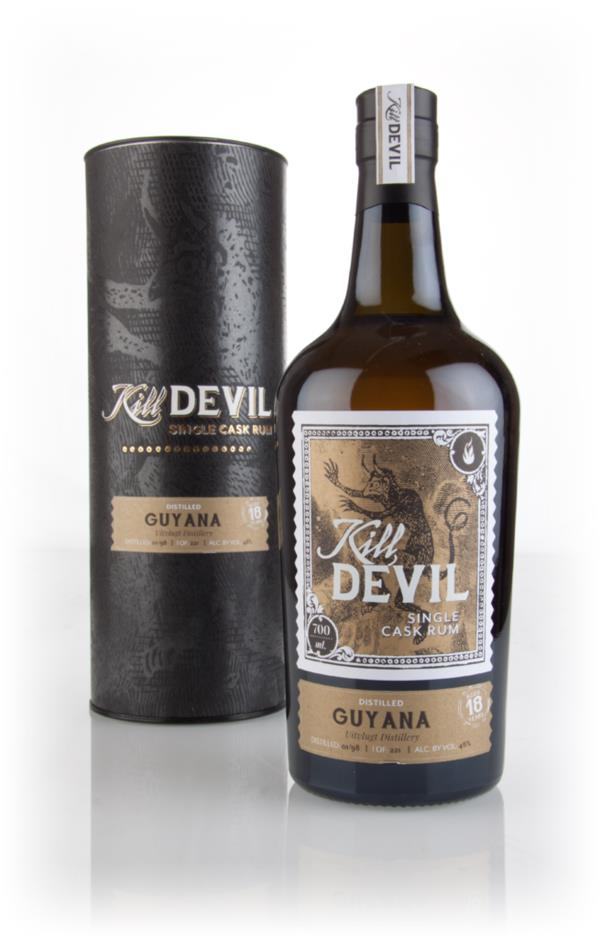 Uitvlugt 18 Year Old 1998 Guyanese Rum - Kill Devil (Hunter Laing) Dark Rum