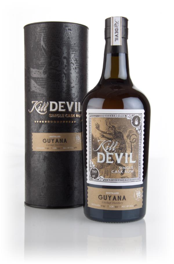 Uitvlugt 18 Year Old 1997 Guyanese Rum - Kill Devil (Hunter Laing) Dark Rum