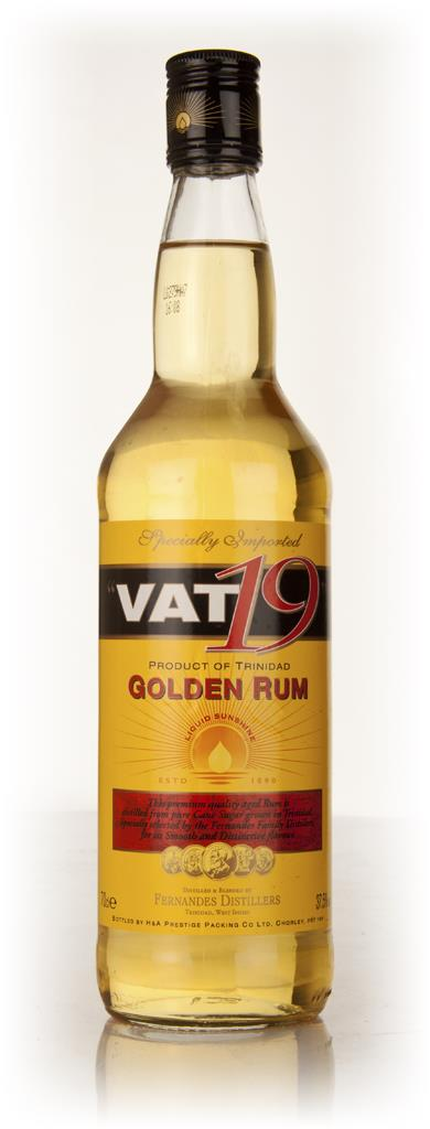Vat 19 Golden Dark Rum