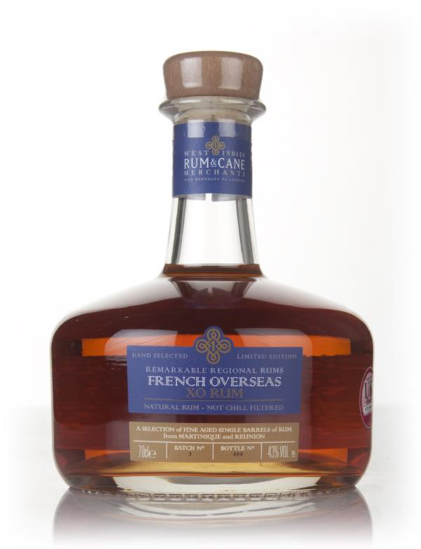 French Overseas - Remarkable Regional Rums (West Indies Rum & Cane Mer Rhum Agricole Rum