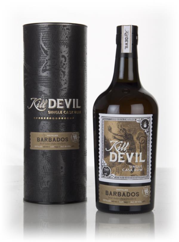 West Indies 16 Year Old 2000 Barbados Rum - Kill Devil (Hunter Laing) Dark Rum