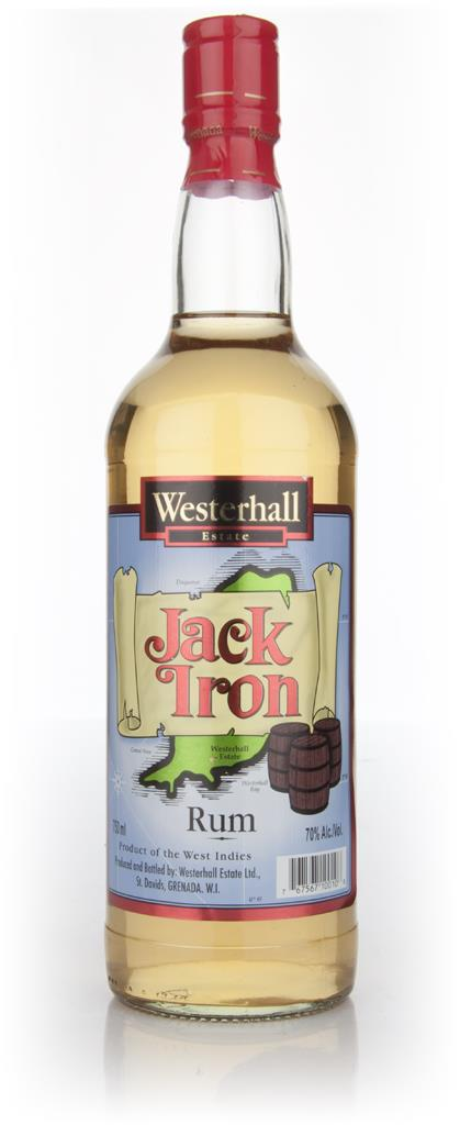 Westerhall Estate Jack Iron Dark Rum
