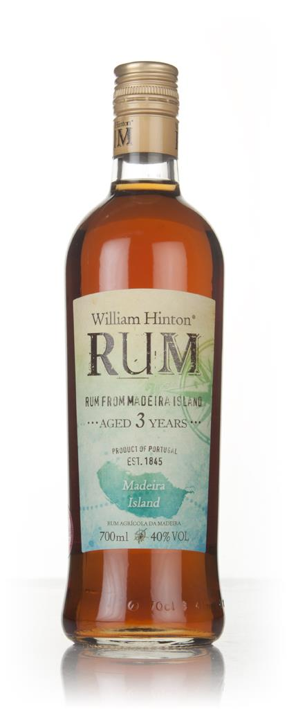 William Hinton 3 Year Old Madeira Cask Matured Rhum Agricole Rum