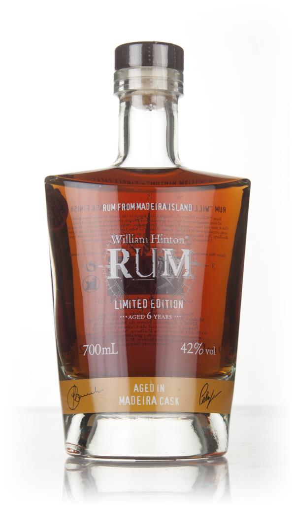 William Hinton 6 Year Old Madeira Cask Matured Rhum Agricole Rum