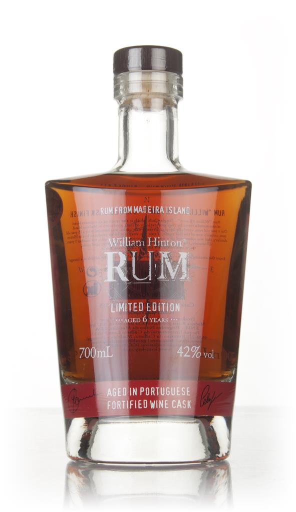 William Hinton 6 Year Old Portuguese Fortified Wine Cask Matured Rhum Agricole Rum