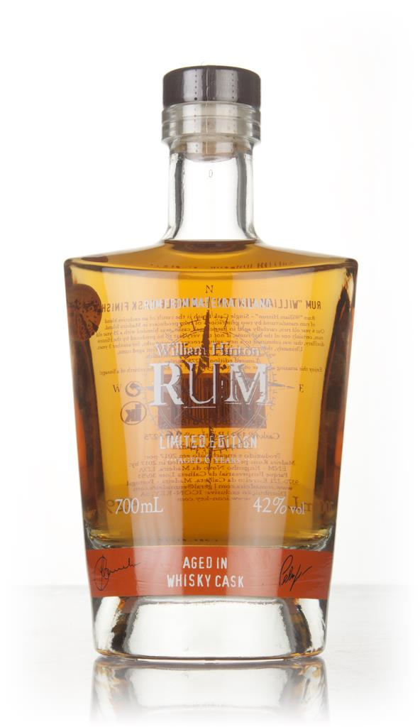 William Hinton 6 Year Old Whisky Cask Matured Rhum Agricole Rum