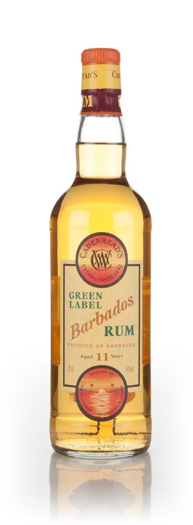 WM Cadenhead 11 Year Old Green Label Barbados Dark Rum