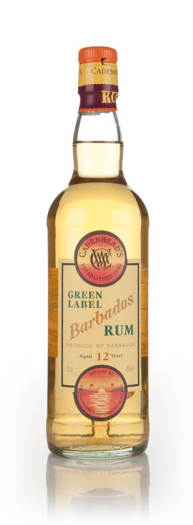 WM Cadenhead 12 Year Old Green Label Barbados Dark Rum