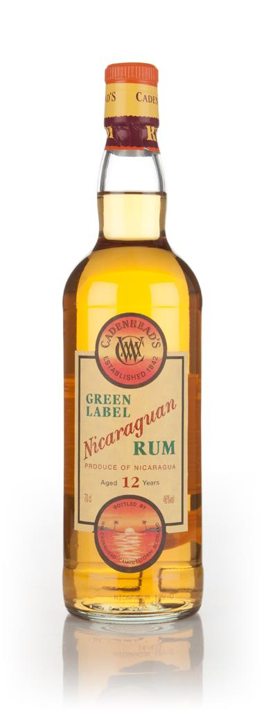 WM Cadenhead 12 Year Old Green Label Nicaraguan Dark Rum