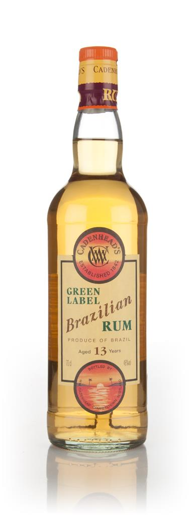 WM Cadenhead 13 Year Old Green Label Brazilian Dark Rum