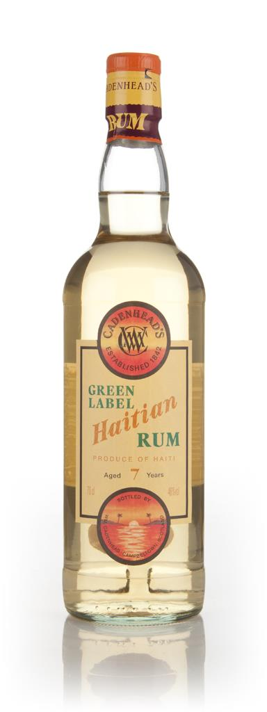 WM Cadenhead 7 Year Old Green Label Haitian Dark Rum