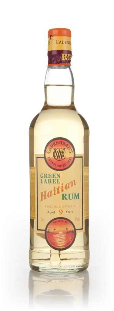 WM Cadenhead 9 Year Old Green Label Haitian Dark Rum
