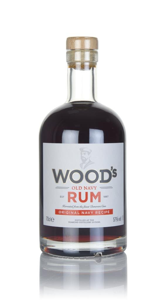 Wood's 100 Old Navy Rum 3cl Sample Dark Rum
