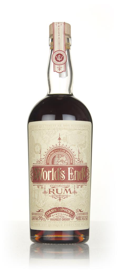 World's End Dark Spiced Rum 3cl Sample Spiced Rum