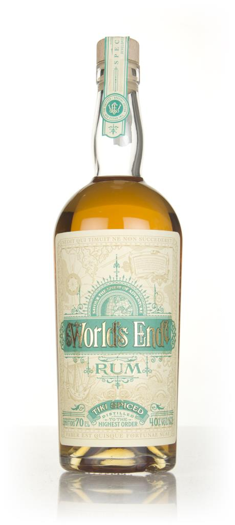 World's End Tiki Spiced Spiced Rum