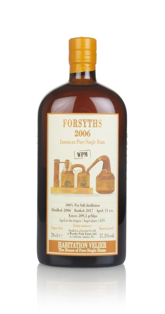 Forsyths 11 Year Old 2006 - Habitation Velier Dark Rum