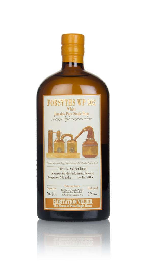 Forsyths White 2015 - Habitation Velier 3cl Sample White Rum