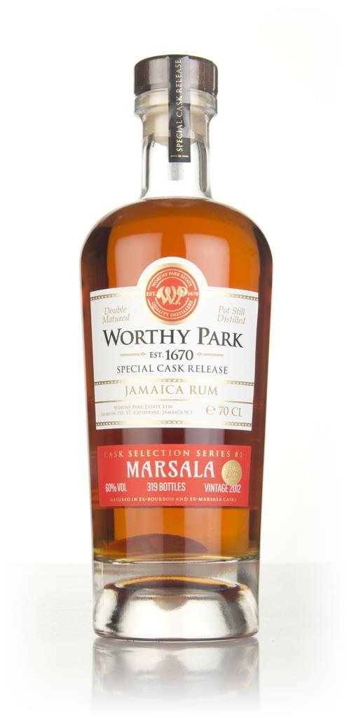Worthy Park 2012 - Marsala Cask Finish Dark Rum