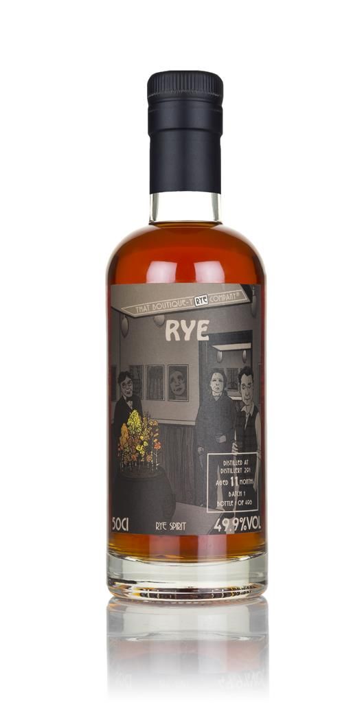 Distillery 291 11 Months Old (That Boutique-y Rye Company) Rye Spirit