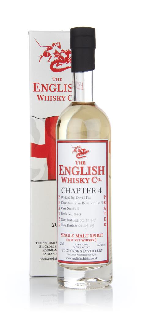 English Whisky Co. Chapter 4 20cl Malt and New Make Spirit
