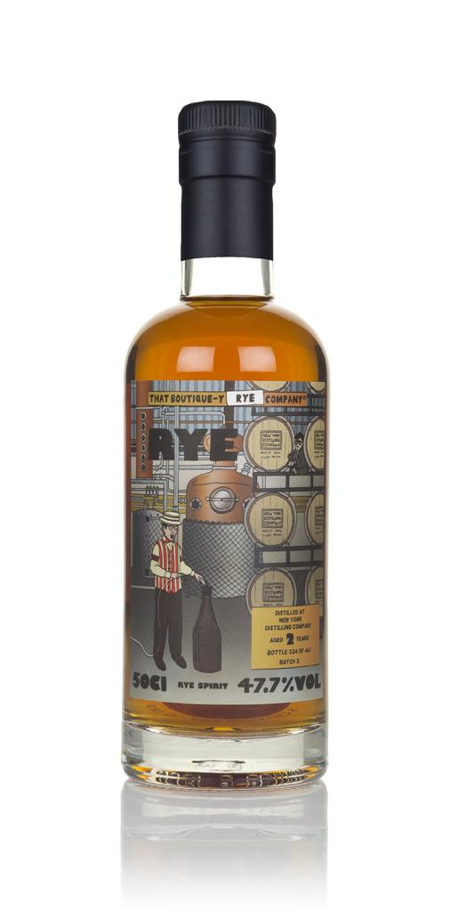 New York Distilling Company 2 Year Old (That Boutique-y Rye Company) Rye Spirit