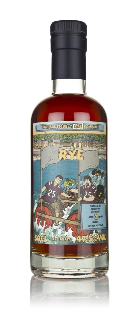 Reservoir Distillery 2 Year Old (That Boutique-y Rye Company) 3cl Samp Rye Spirit 3cl Sample