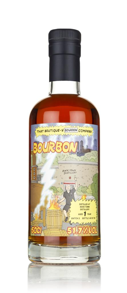 Rock Town 1 Year Old (That Boutique-y Bourbon Company) Bourbon Spirit