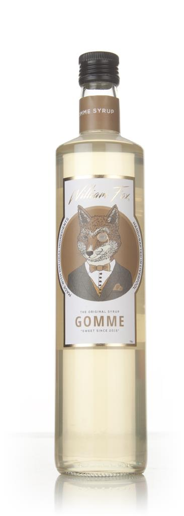 William Fox Gomme Syrup Syrups and Cordials