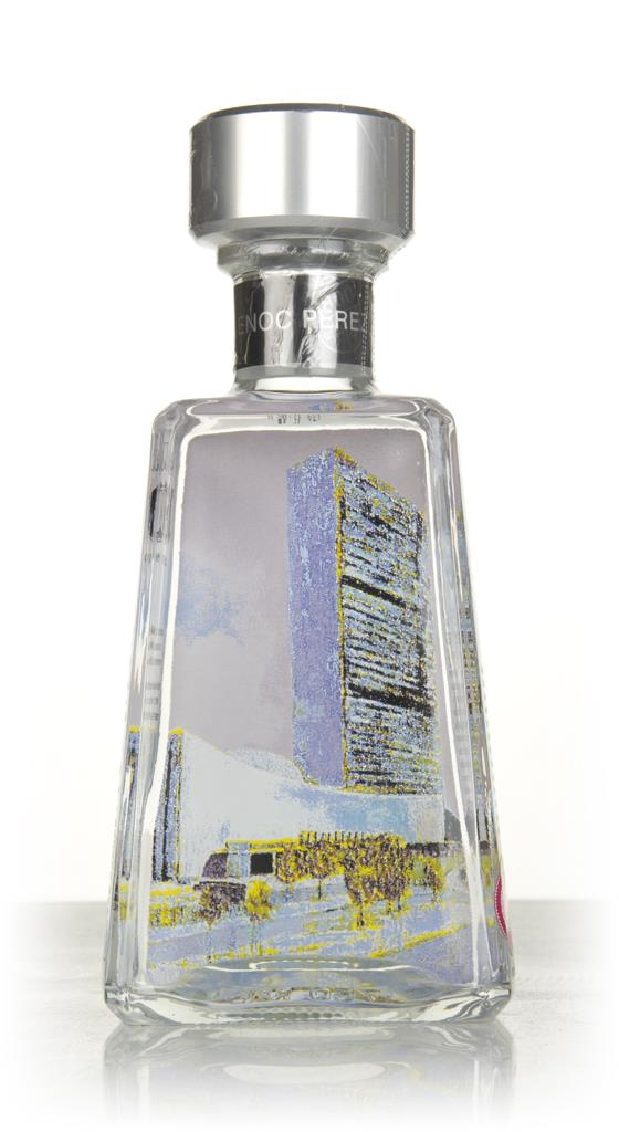 1800 Silver Tequila - U.N. Building, New York City (Essential Artists) Blanco Tequila