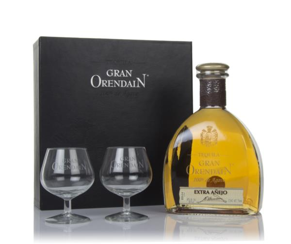 Gran Orendain Extra Anejo 3 Year Old Gift Pack with 2x Glasses Extra Anejo Tequila