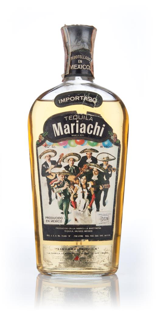 Tequila Mariachi - 1970s Joven Tequila