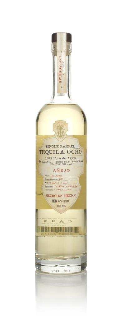 Ocho Single Barrel - Las Aguilas Anejo - 2017 Harvest Anejo Tequila