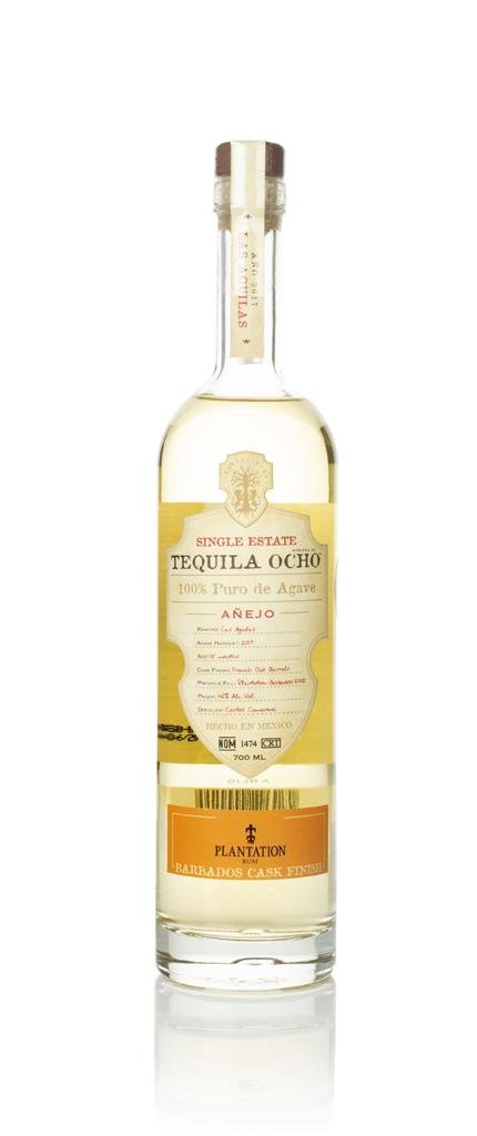 Ocho Single Estate - Barbados Rum Cask Finish Anejo Tequila