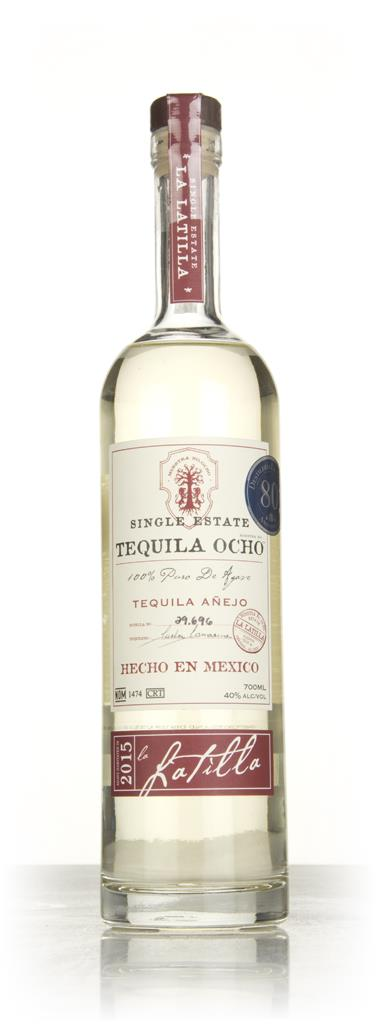 Ocho Single Estate - La Latilla Anejo - 2015 Harvest Anejo Tequila
