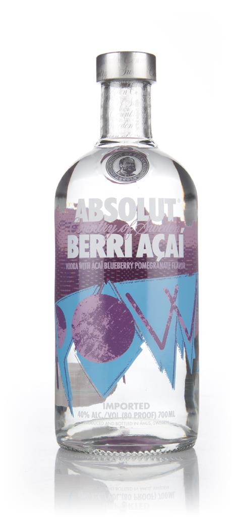 Absolut Berry Acai Flavoured Vodka