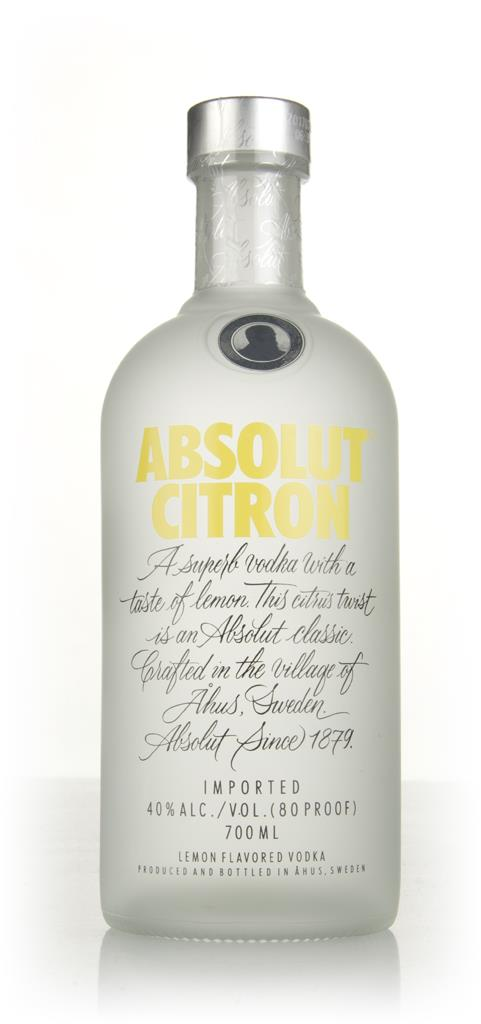 Absolut Citron Flavoured Vodka